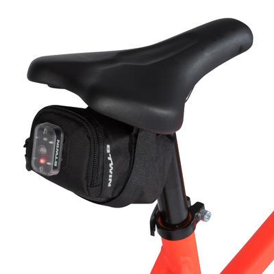 ערכה לתיקון אופניים ותיק לאוכף 0.5 ליטרים דגם 100 - שחור