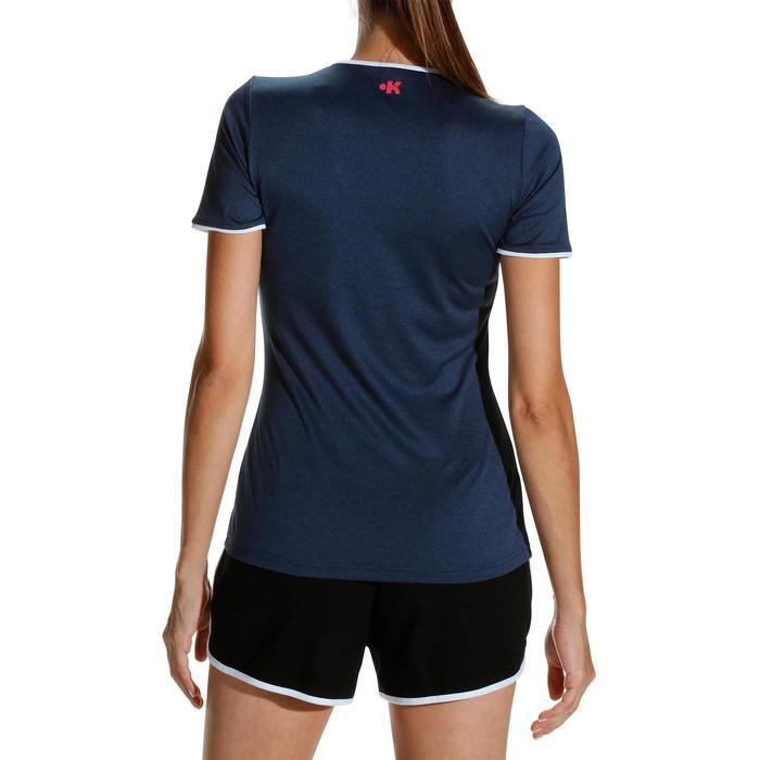 Camiseta de voleibol mujer V100 azul