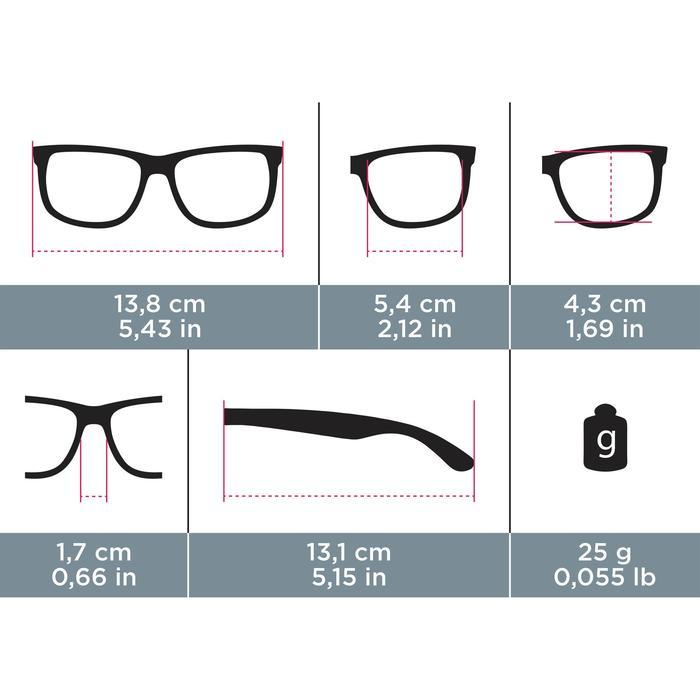 lunettes de soleil de marche sportive adulte WALKING 400 bleues catégorie 3 - 744329