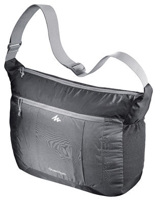 Ultra-Compact Travel Satchel - Grey