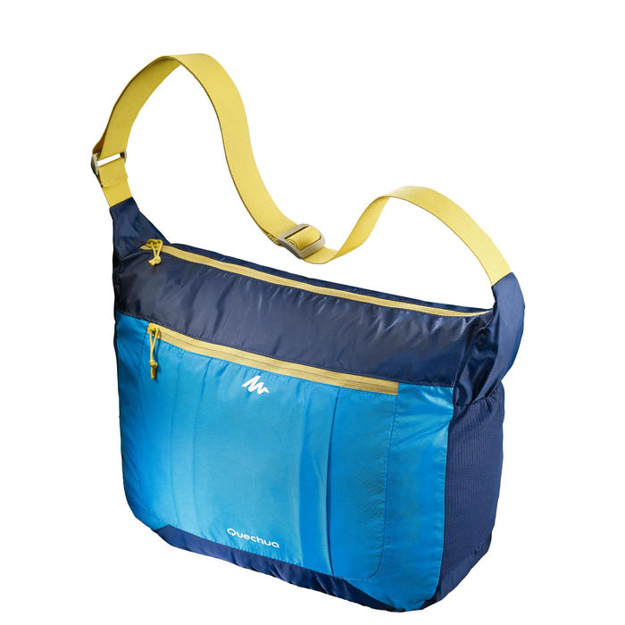 Ultracompacte schoudertas Travel blauw