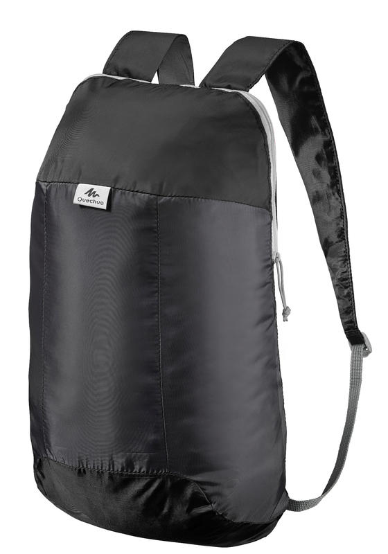 Travel Ultra-Compact 10-Litre Backpack - Black