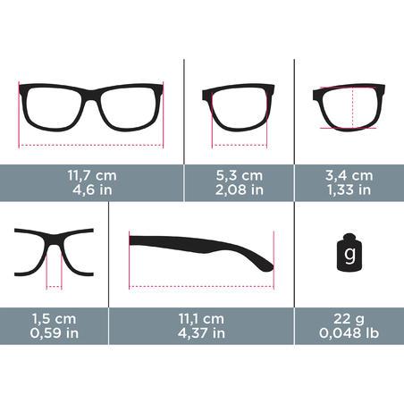 Дитячі сонцезахисні окуляри 500 для туризму, поляризаційні, кат. 4 - Сині