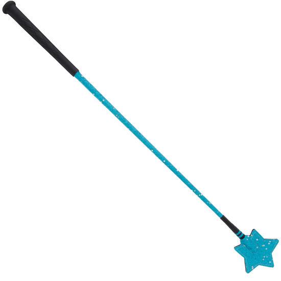 Rijzweep Ster voor ruitersport blauw 65 cm - 744777