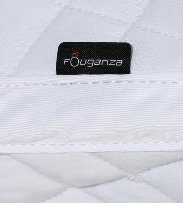 Schooling Horse Riding Saddle Cloth for Pony and Horse - White