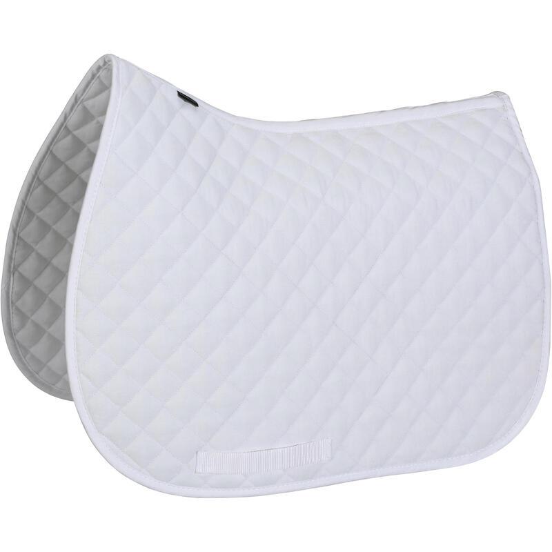 Horse & Pony Saddle Cloth 100 - White