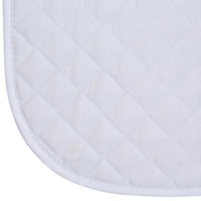 قماش السرج المناسب للأحصنة والمهور - أبيض