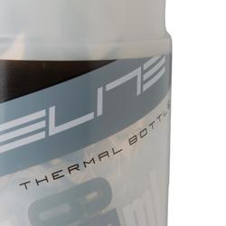 Bidón isotérmico de ciclismo Iceberg 650 ml blanco