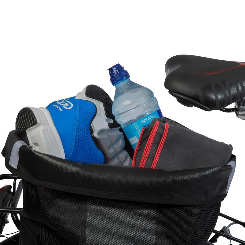 Waterproof Pannier Rack Bike Bag 20L 500 - Black