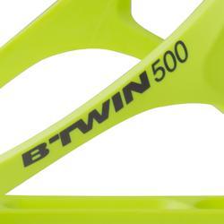 Bidonhouder fiets 500 fluogeel