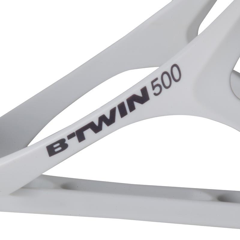Portabotella bici 500 blanco