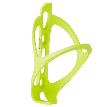 Port botella bicicleta 500 amarillo fluorescente