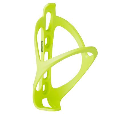 Portacaramañolas bicicleta 500 amarillo fluorescente