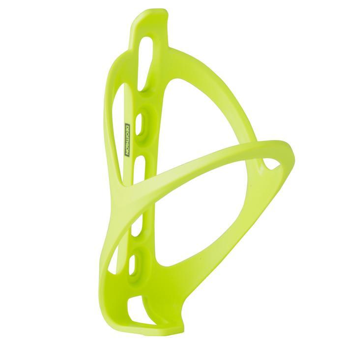 Portabidón Bicicleta Triban 500 Amarillo Limón Plástico