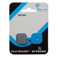 Plaquettes de freins à disque compatibles avec Tektro IO et Novela