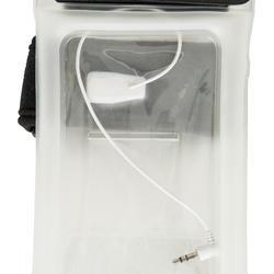 Waterdicht en drijvend telefoonetui met strap en aansluiting voor je oortjes - 745051