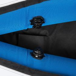 Opblaasbare kajak Wabash 2-persoons blauw