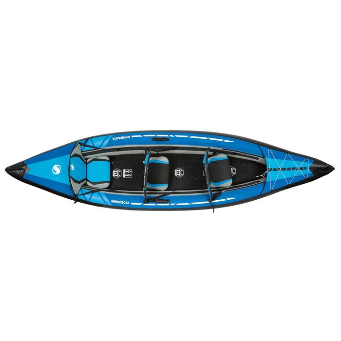 CANOE KAYAK GONFLABLE MINNESOTA 2 ou 3 Places - 745172