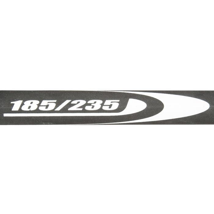 Windsurf giek aluminium 185/235 cm zwart