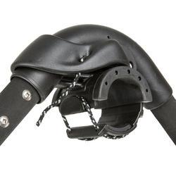 Windsurf giek aluminium 140/195 cm zwart - 745206
