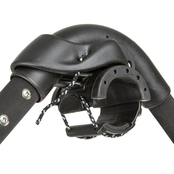 Windsurf giek aluminium 140/195 cm zwart