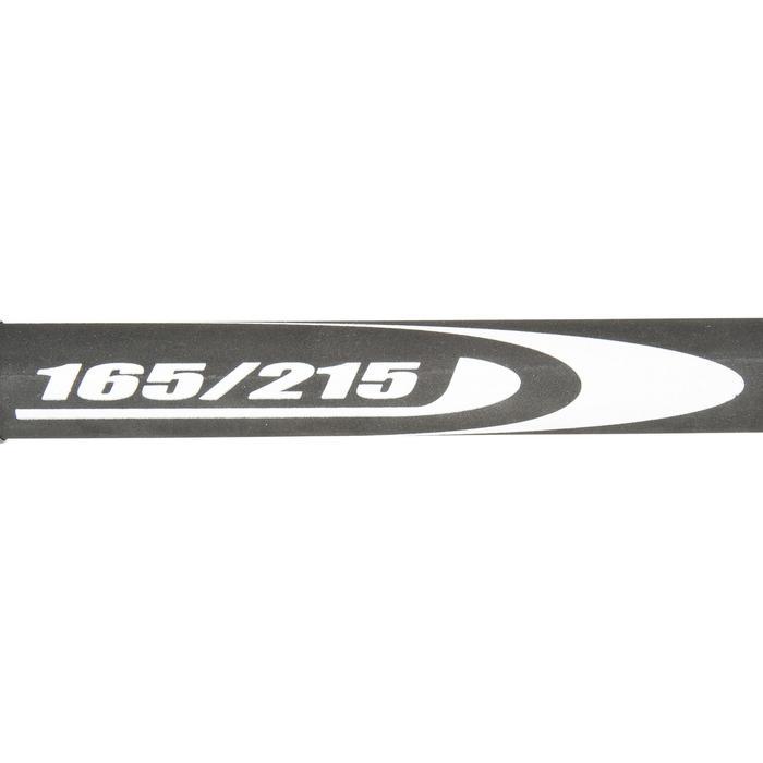 Giek voor windsurfplank, aluminium 165/215 cm zwart