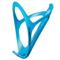 Portabidón Bicicleta Ciclismo Btwin Triban 500 Azul Cian Plástico