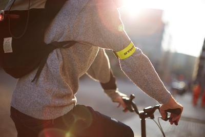 ៥០០ជ្រុងអាចមើលឃើ្/Armband - លឿង