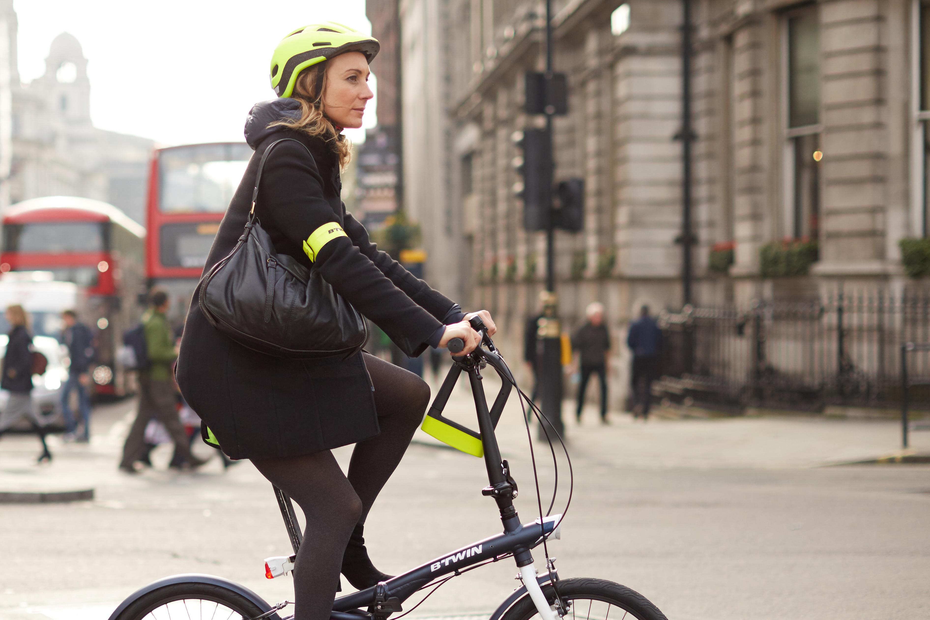 500 Cycling Armband - Yellow