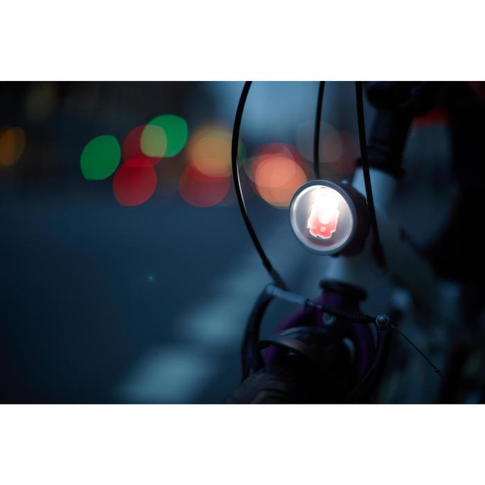 ECLAIRAGE VELO LED VIOO CLIP 500 AVANT/ARRIERE USB - 746578