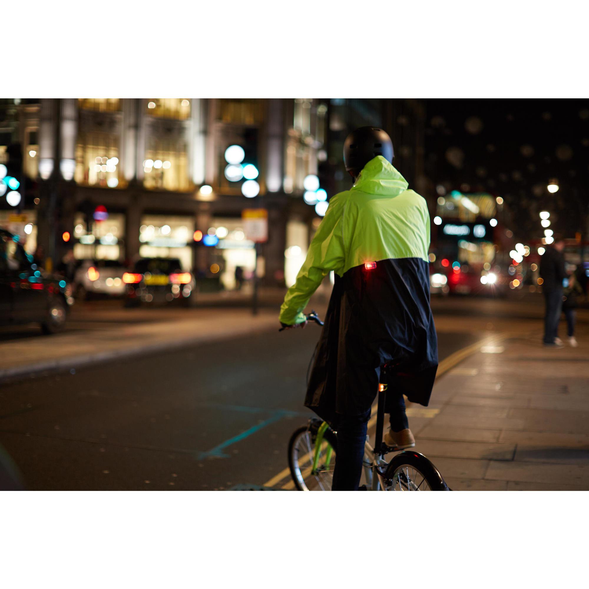 Jaune Bike Location vélo Outdoor Vêtement pluie Manteau imperméable