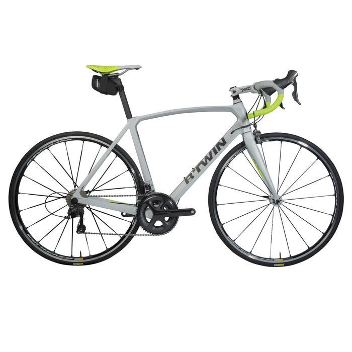 Zadeltas fiets 500 S 0,4 l zwart