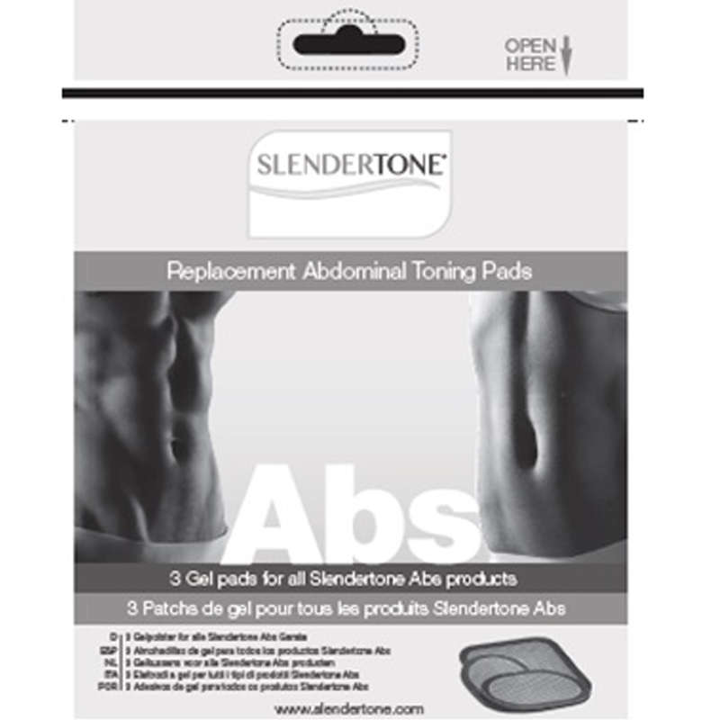 ELECTRICAL MUSCLE STIMULATORS Fitness and Gym - Abs Replacement Pads SLENDERTONE - Fitness and Gym