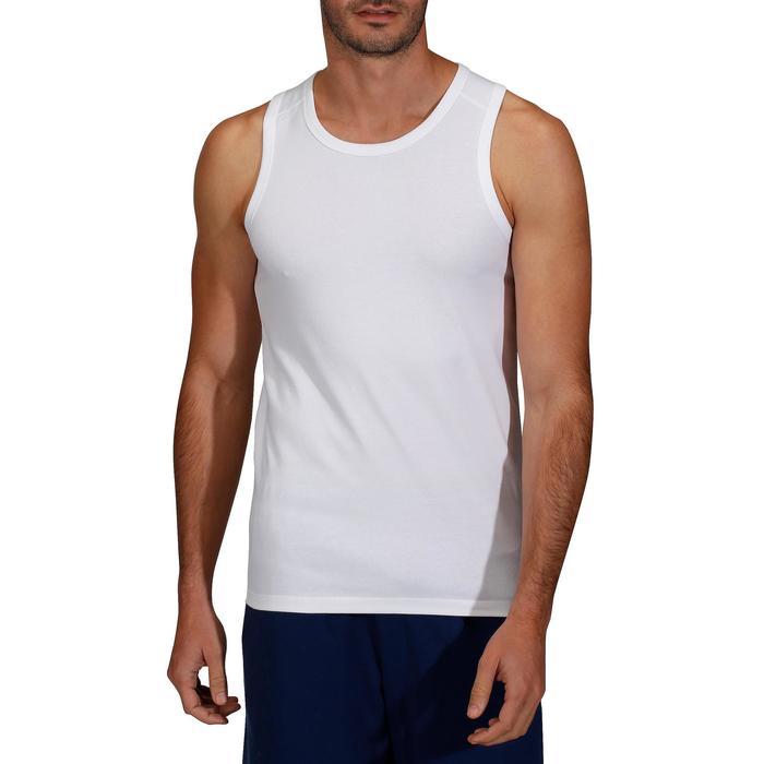 Débardeur Gym & Pilates homme blanc
