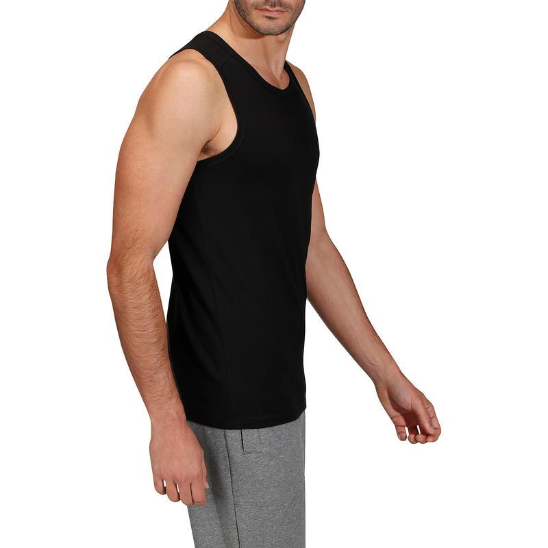 Gym & Pilates Tank Top - Black
