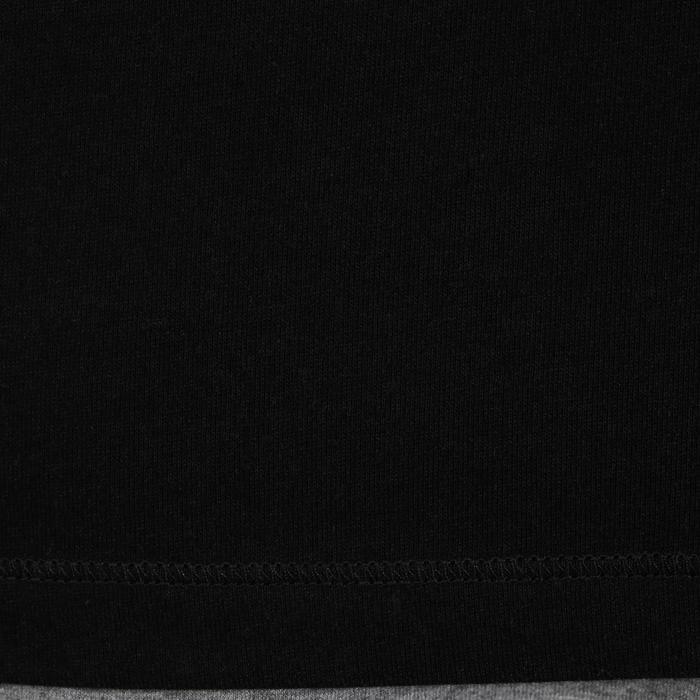 Mouwloos herenshirt voor gym en pilates zwart