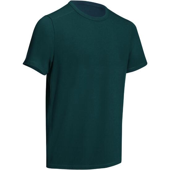 Heren T-shirt voor gym en pilates, regular fit - 747991