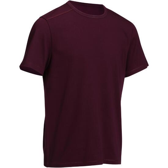 Heren T-shirt voor gym en pilates, regular fit - 747998