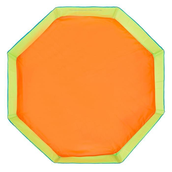 Piscinette enfant TIDIPOOL+ verte et orange avec sac de transport