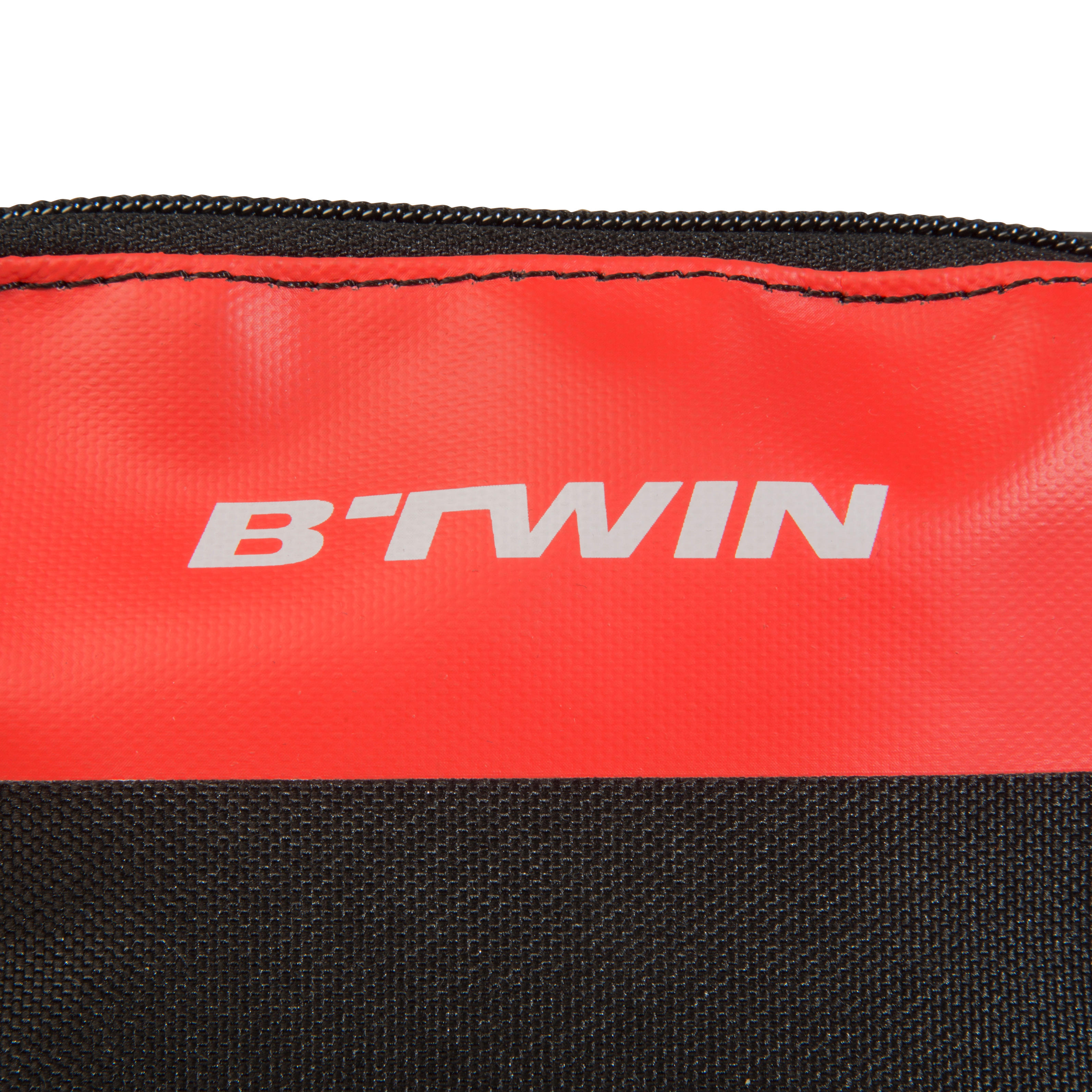 500 Double 1L Bike Frame Bag - Red