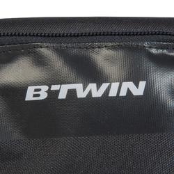 Doppel-Fahrrad-Rahmentasche 500 1 Liter schwarz