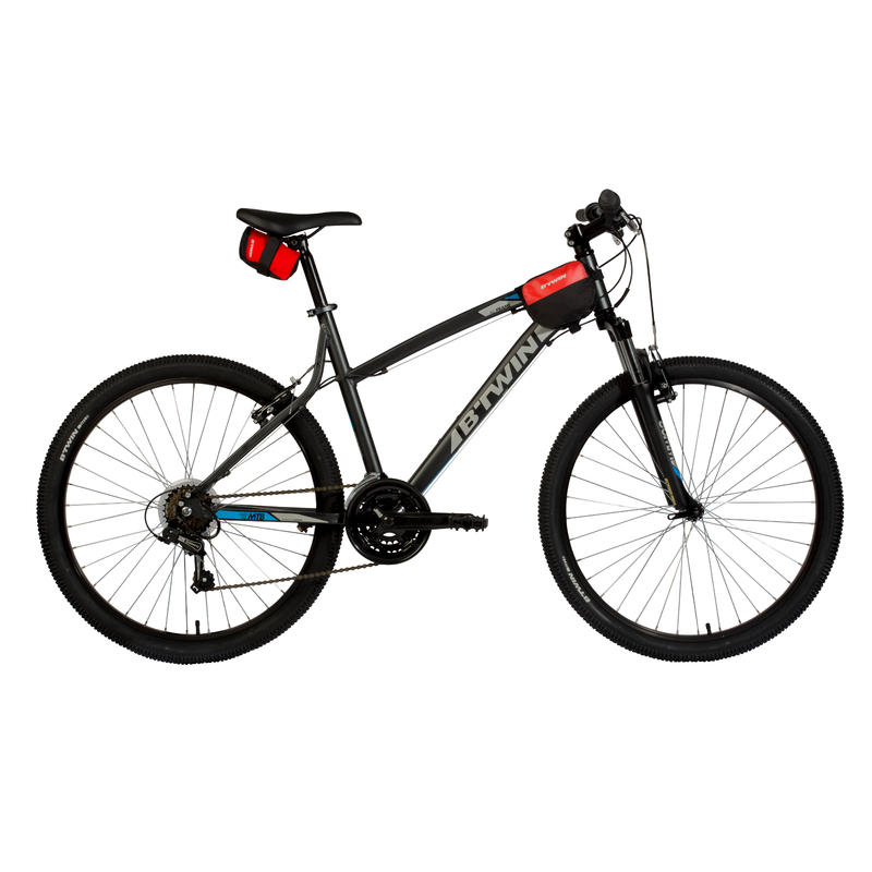 500 Double 1L Bike Frame Bag - Red