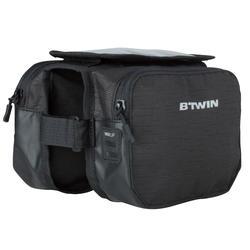 Double Bike Frame Bag 2L - Black