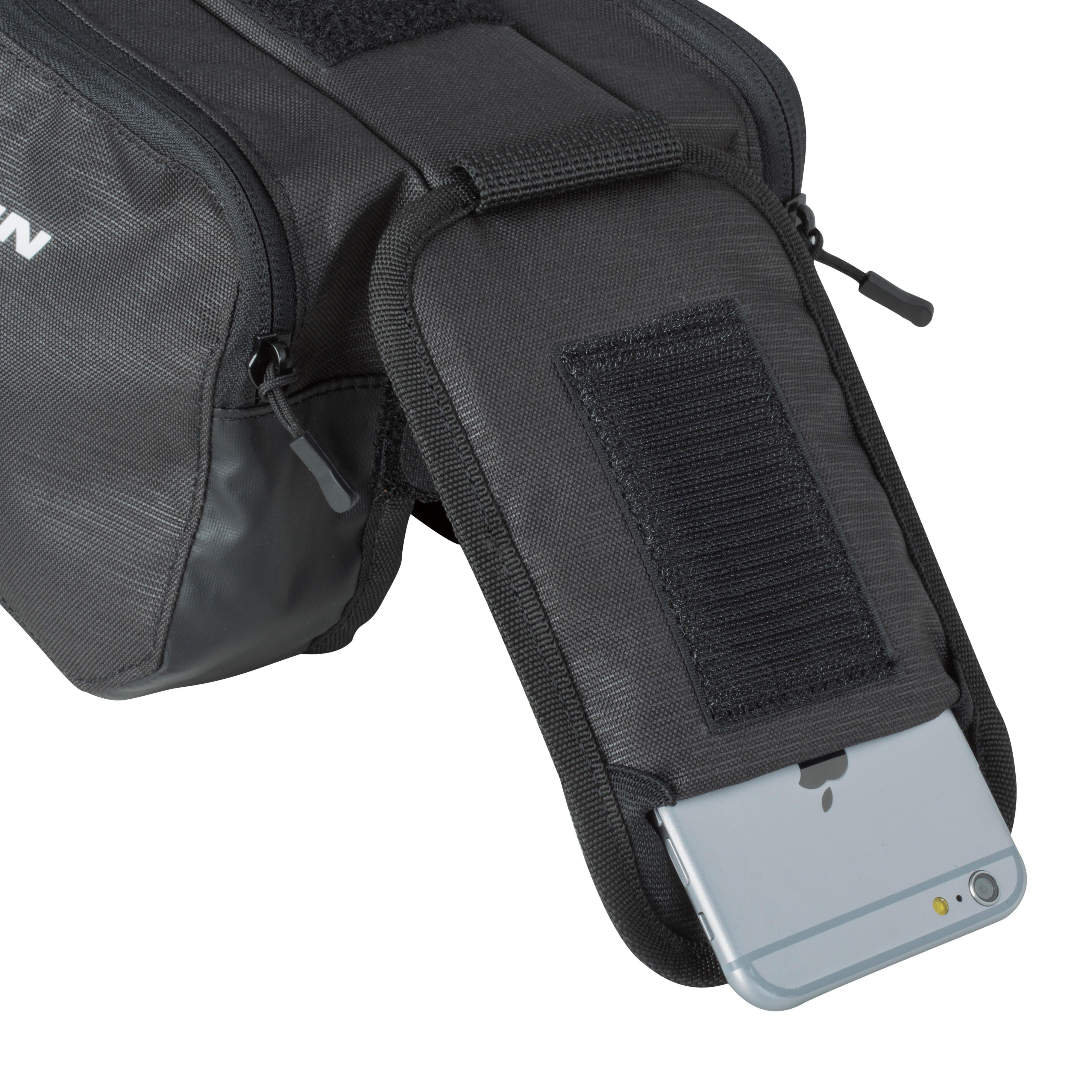 520 Double Bike Frame Bag 2L - Black