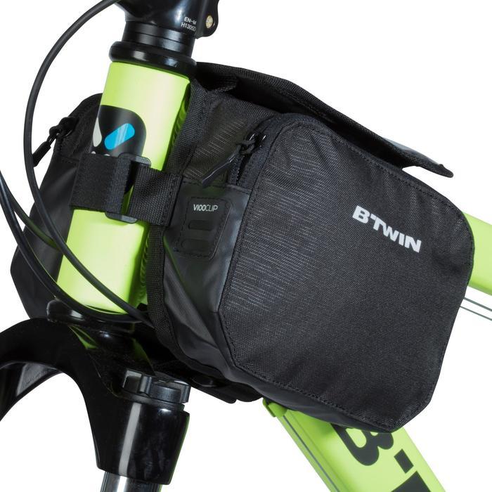 2 L雙層自行車架包520 - 黑色