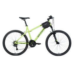 Dubbele frametas fiets 520 2 l zwart