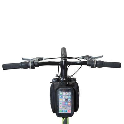 520 תיק שילדת אופניים כפול 2 ליטרים - שחור
