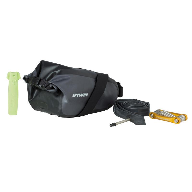 Waterproof Bike Saddle Bag S 2.5 L 900 - Black