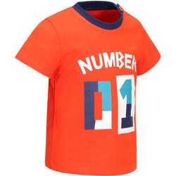 Baby Boys' Short-Sleeved T-Shirt - Red