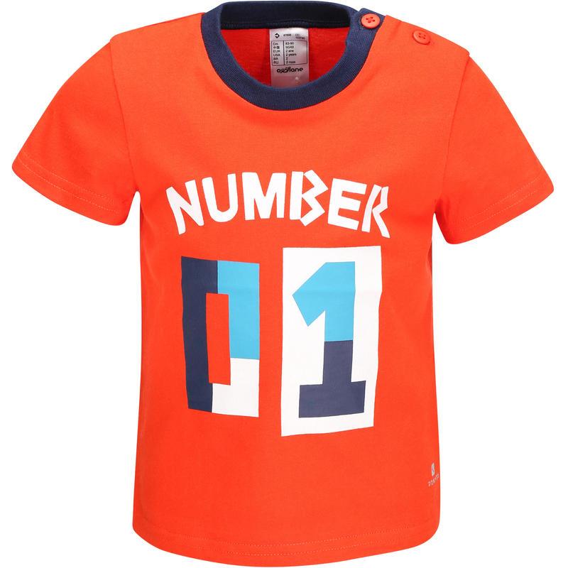 Kaos T-Shirt Lengan Pendek Anak Laki-Laki - Merah